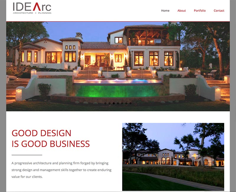 Construction / Home Improvement Web Sites   Orange County Web Design |  Stark Logic